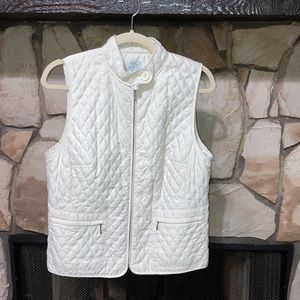Like new white vest.